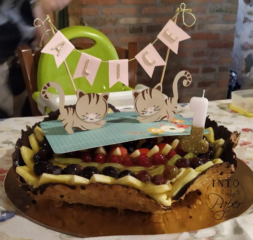 Cake topper (3) w